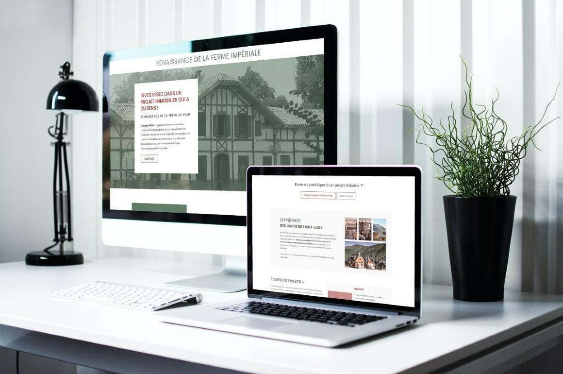 Création site OnePage WordPress