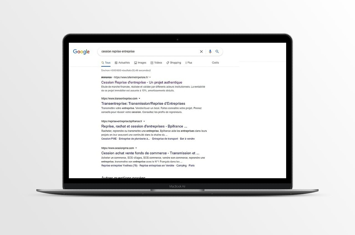 Campagne SEA Google Ads