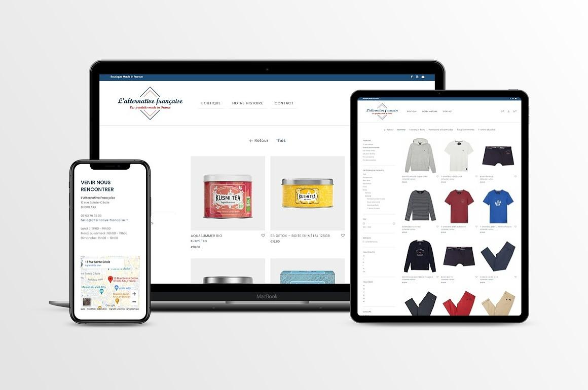 Création site e-commerce WordPress
